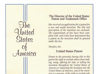 绿和专利证书