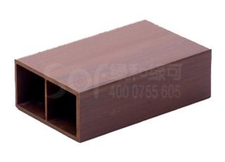 竹塑木方通10050