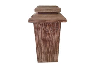 五代绿和木塑立柱