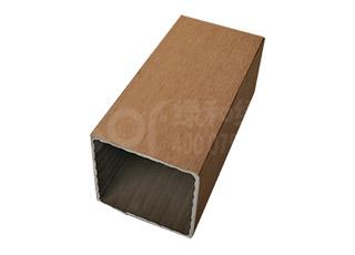 绿和木塑户外方柱100100B