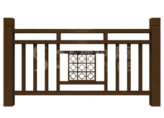 木塑公园护栏/塑木木塑栏杆