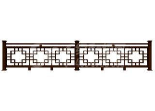 木塑庭院栅栏