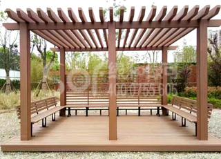 木塑花架/塑木木塑花架