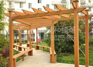木塑廊架/塑木木塑花架