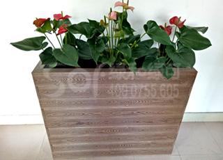 景观木塑花箱/塑木木塑花箱