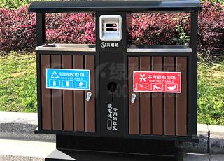 塑木垃圾桶/塑木木塑垃圾桶