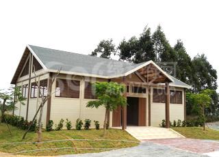 阳江木屋公厕/环保生态木屋公厕