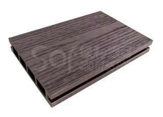 绿和木塑空芯地板13525