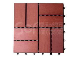 木塑快装地板/塑木木塑DIY地板