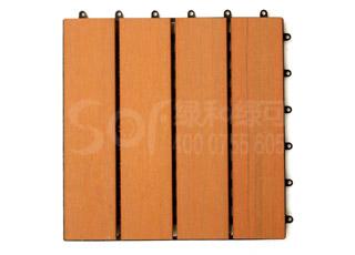木塑DIY创意地板/塑木木塑DIY地板