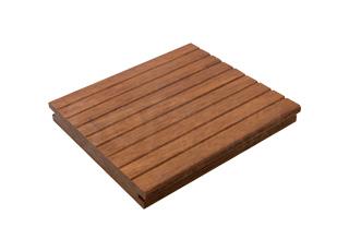 小勾槽浅碳瓷态色重竹木地板13918A