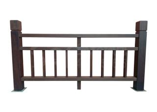 高耐色竹木栏杆-2