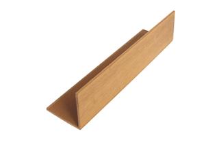 PSD绿和木塑L型收口线