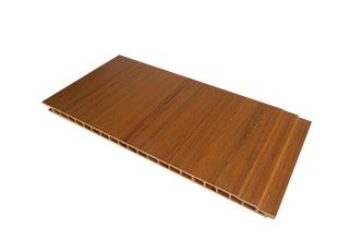 LHO300X12绿可生态木墙板-柚木
